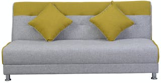 OLC Sofabed Ivanka Two Tone - Yellow