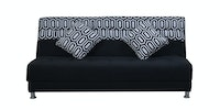 OLC Sofabed Ivanka Two Tone - Black Celtic