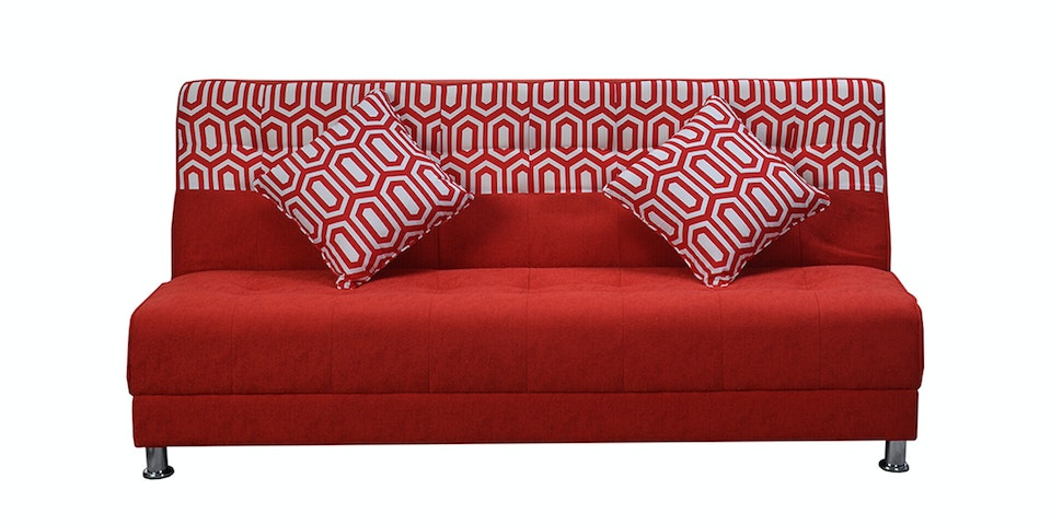 OLC Sofabed Ivanka Two Tone - Red Celtic