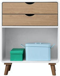 Olive House Helsinki Low 3 Drawer