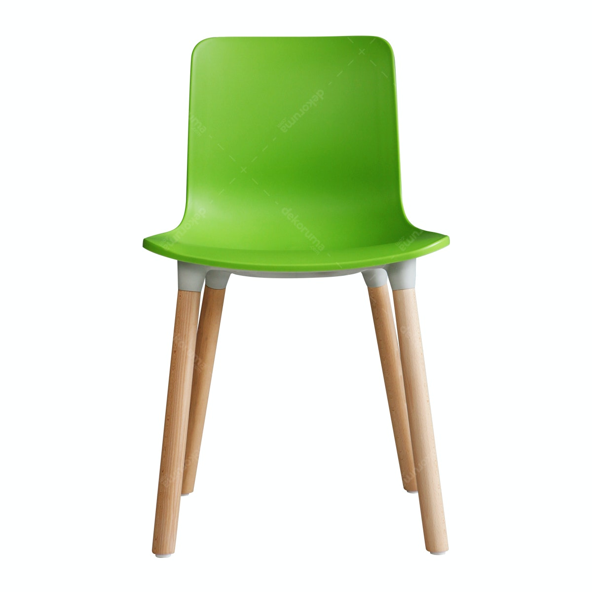 Olive House PVC Chair Hijau