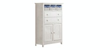 Olive House Belia 34 High Drawer Putih