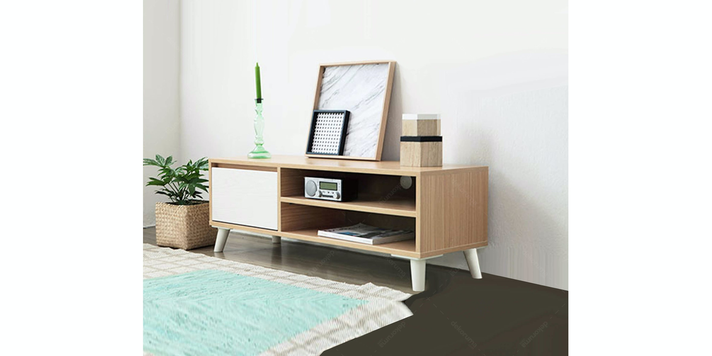 Olive House Rora TV Cabinet 1200