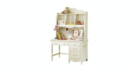 Olive House Queen Anne Desk Set Ivory