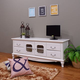 Olive House Rak Meja TV Queen Anne TV Cabinet