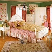 Olive House Ranjang Tempat Tidur Queen Anne Bed 160