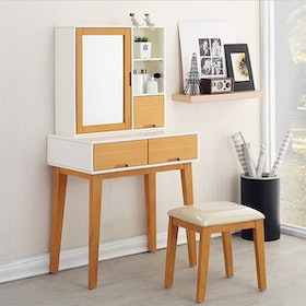 Olive House Echo Console Set Natural