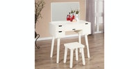Olive House Meja Rias Hera 4 Drawers Console Set