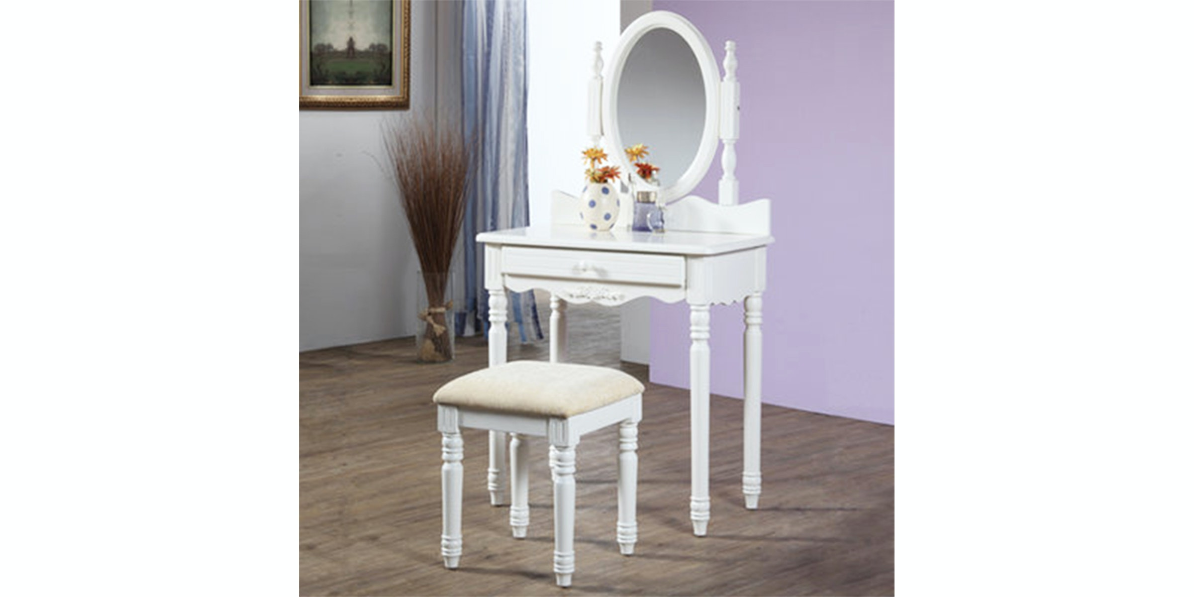 Olive House Meja Rias Lucia Console No Drawer