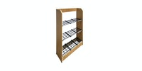 Olive House Rora Simple Shoes Rack 3T Natural