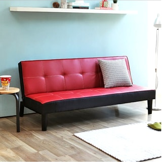 Olive House Sofa Bed Lotus - Red