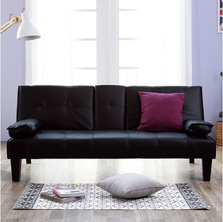 Olive House Sofa Bed Cappuccino - Black