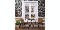Olive House Interior Glass Set - Brown
