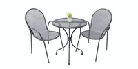 Olive House Steel Space Chair - Dark Grey