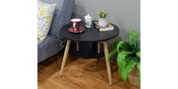 Olive House Helsinki Sofa Table 600 - Grace Maple