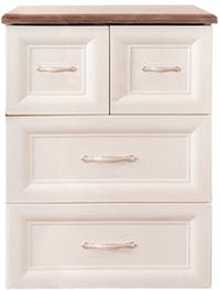 Olymplast Drawer Cabinet Classic ODC 03-CB