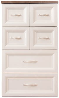 Olymplast Drawer Cabinet Classic ODC 04-CC