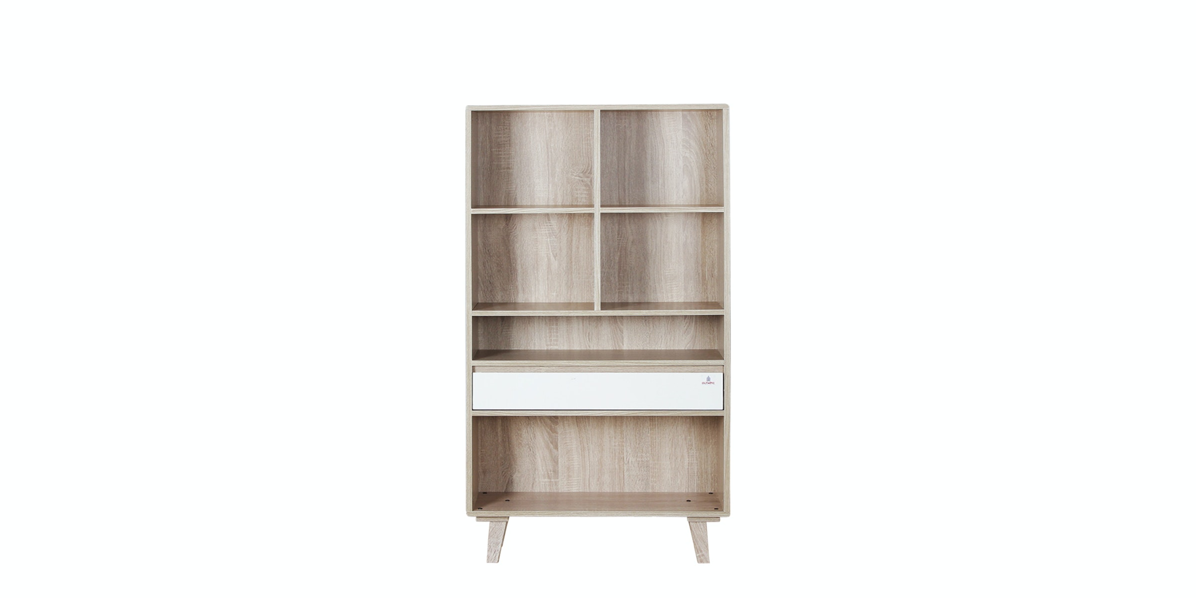 Olympic Curla Series Book Case Small-Rak Buku Besar Scandinavian Style