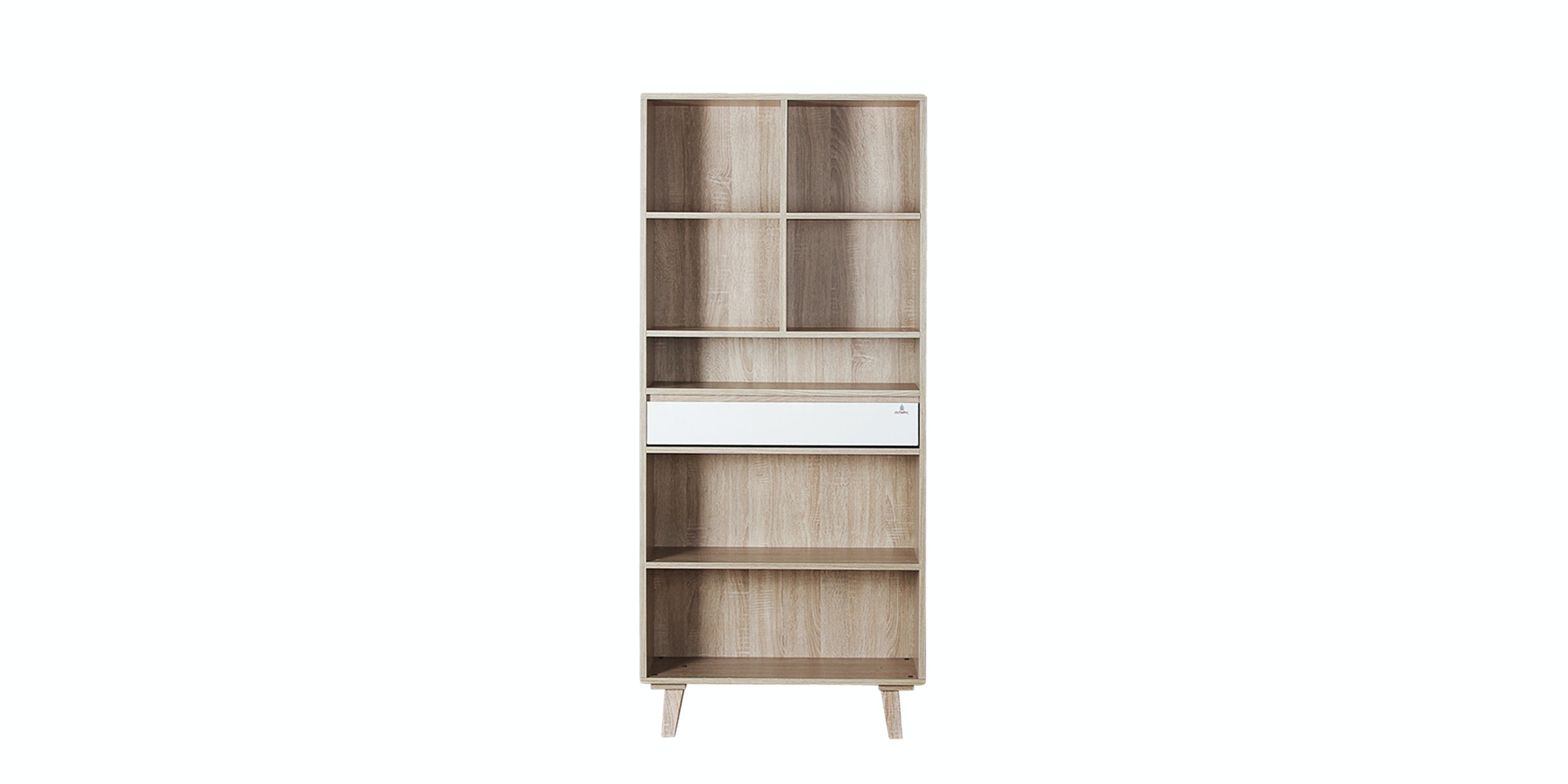 Olympic Curla Series Book Case Big-Rak Buku Besar Scandinavian Style