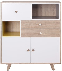Olympic Curla Series Chest Drawer-Laci Tempat Penyimpanan Scandinavian Style