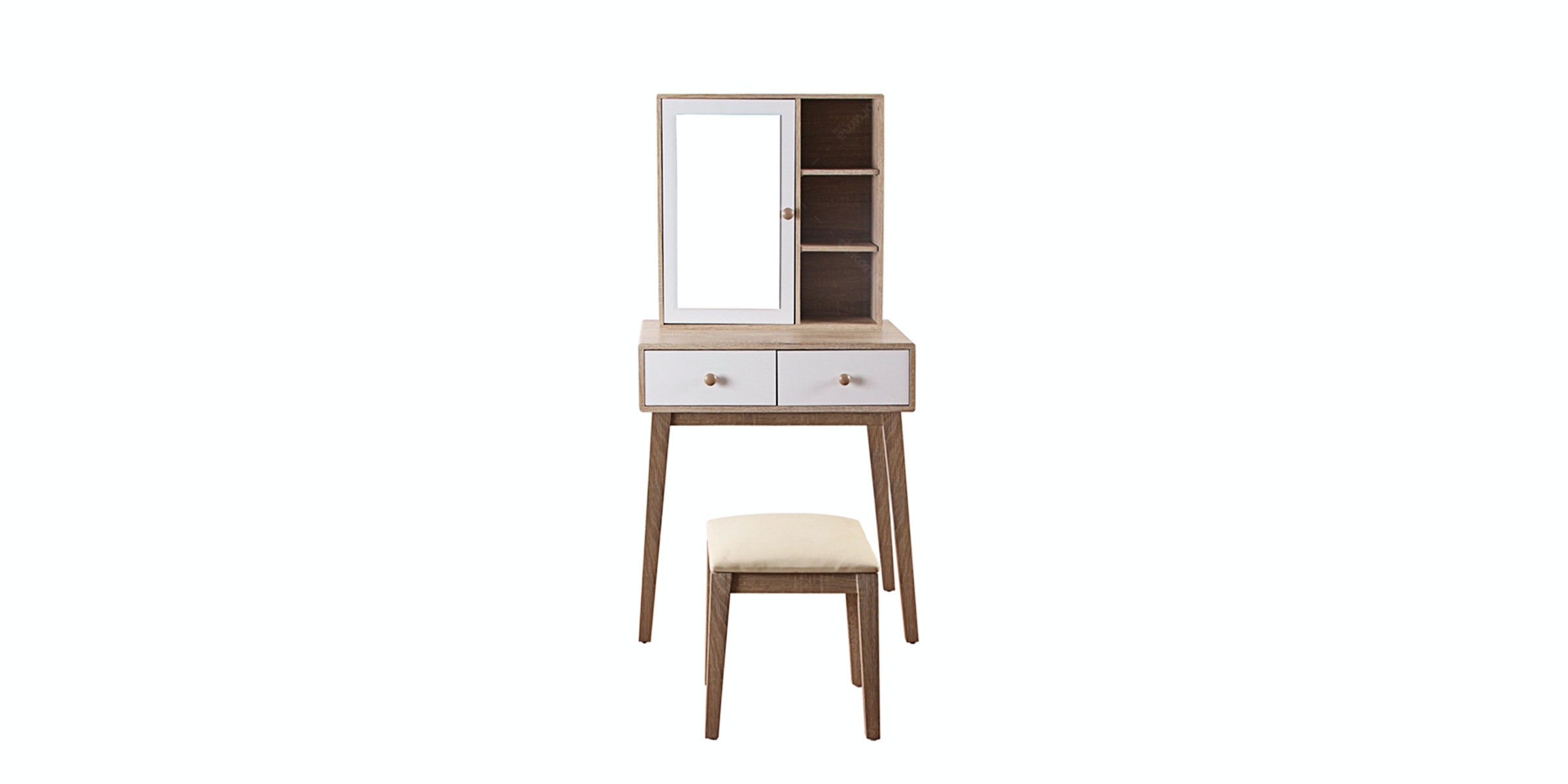 Olympic Curla Series Dressing Table - Meja Rias Scandinavian Style