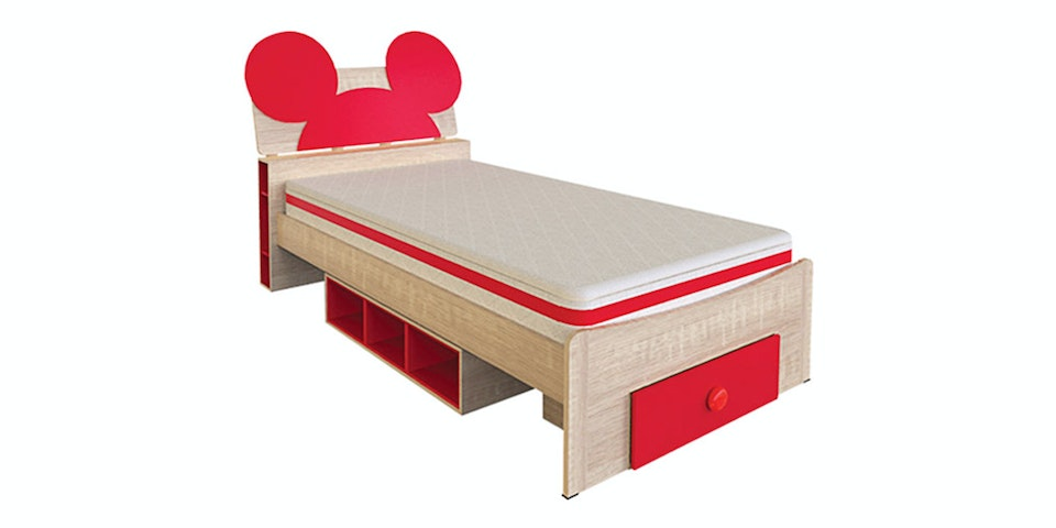 Olympic Bed Set Mickey Series - Dipan Anak Character Mickey