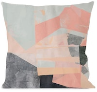 On&On Abstract Pastel 3 Cushion 40x40cm