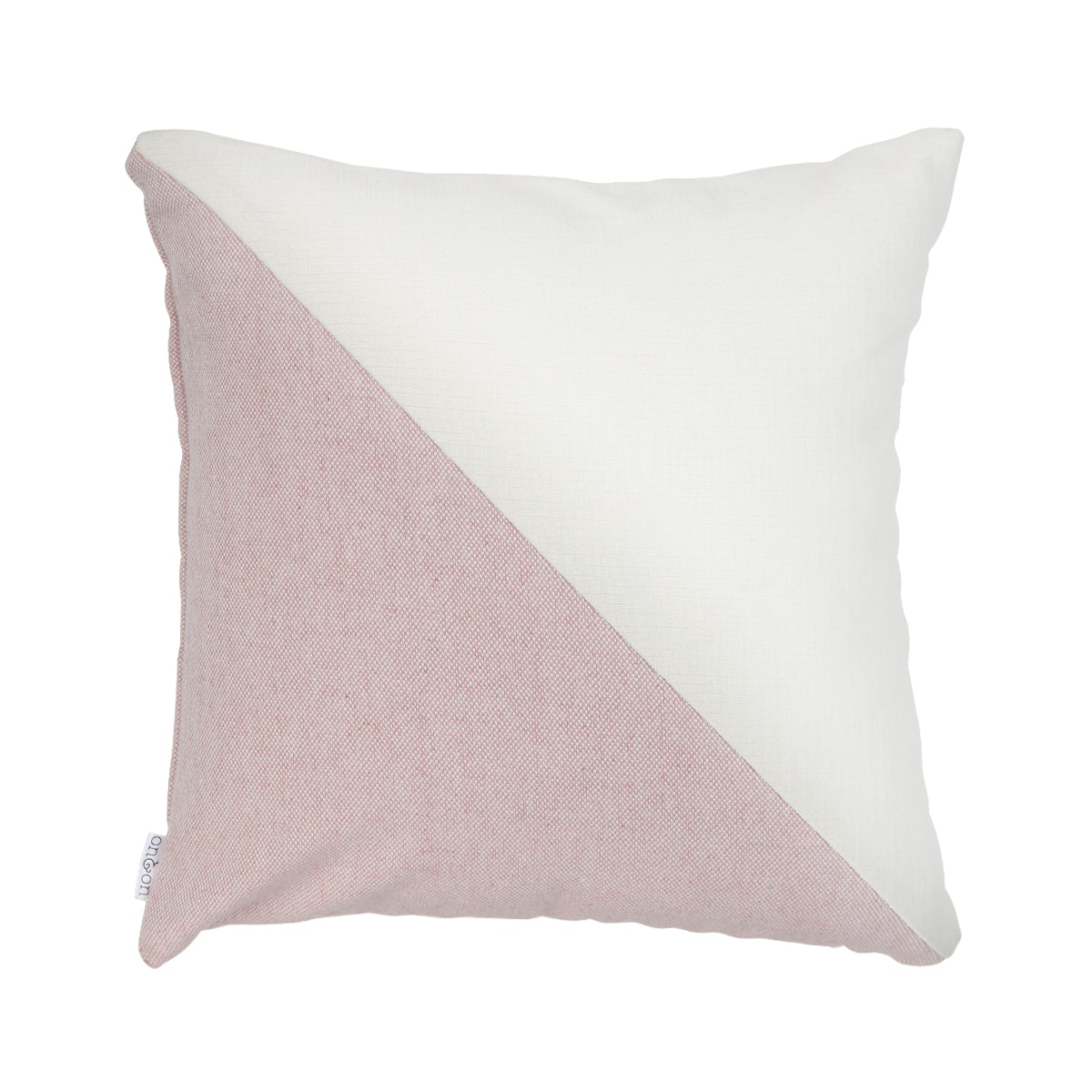 On&On Cushion Cross Pink Pastel 40x40cm