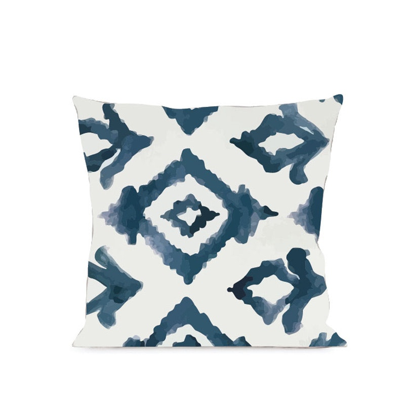 On&On Navy Prism Cushion 40X40cm