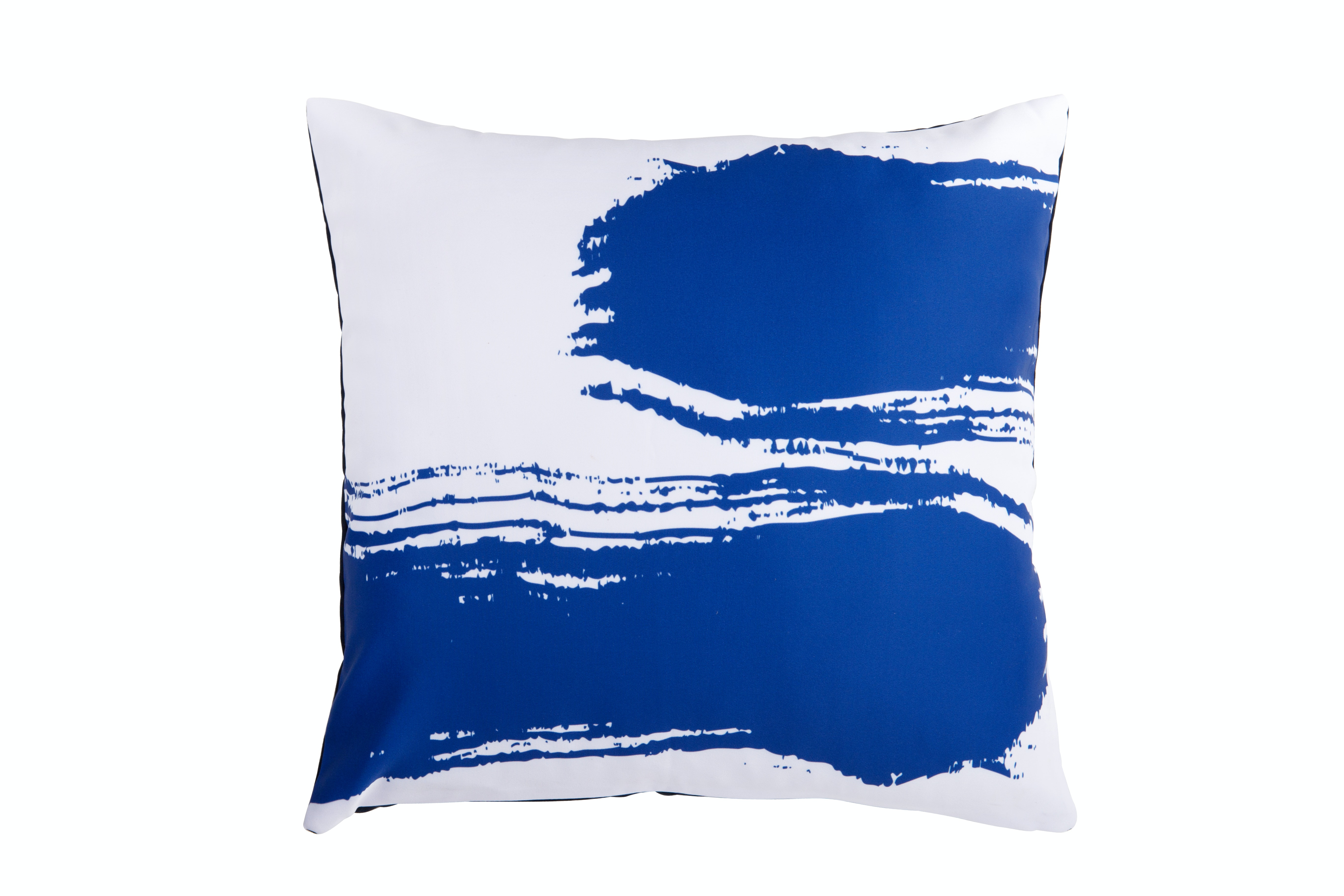 On&On Blue Paint #3 Cushion Cover 40x40cm