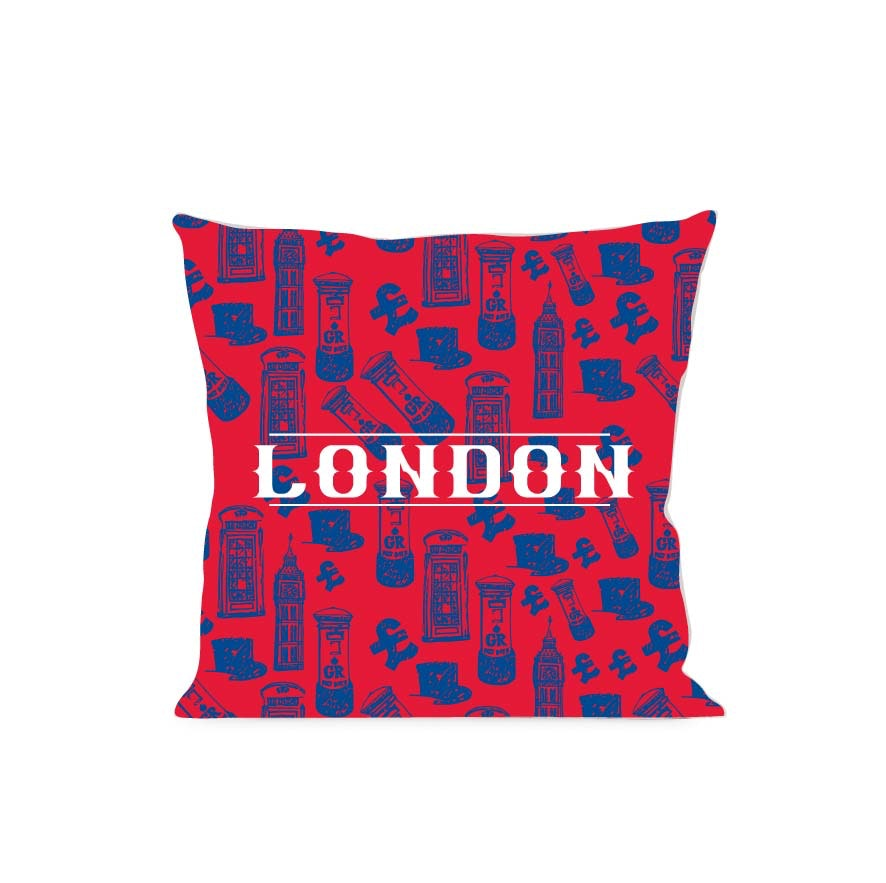 On&On Icon Of London Cushion 40x40cm