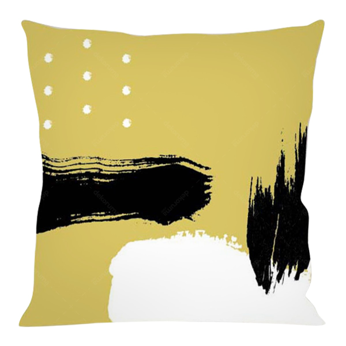 On&On Gold Paint #1 Cushion 40x40cm