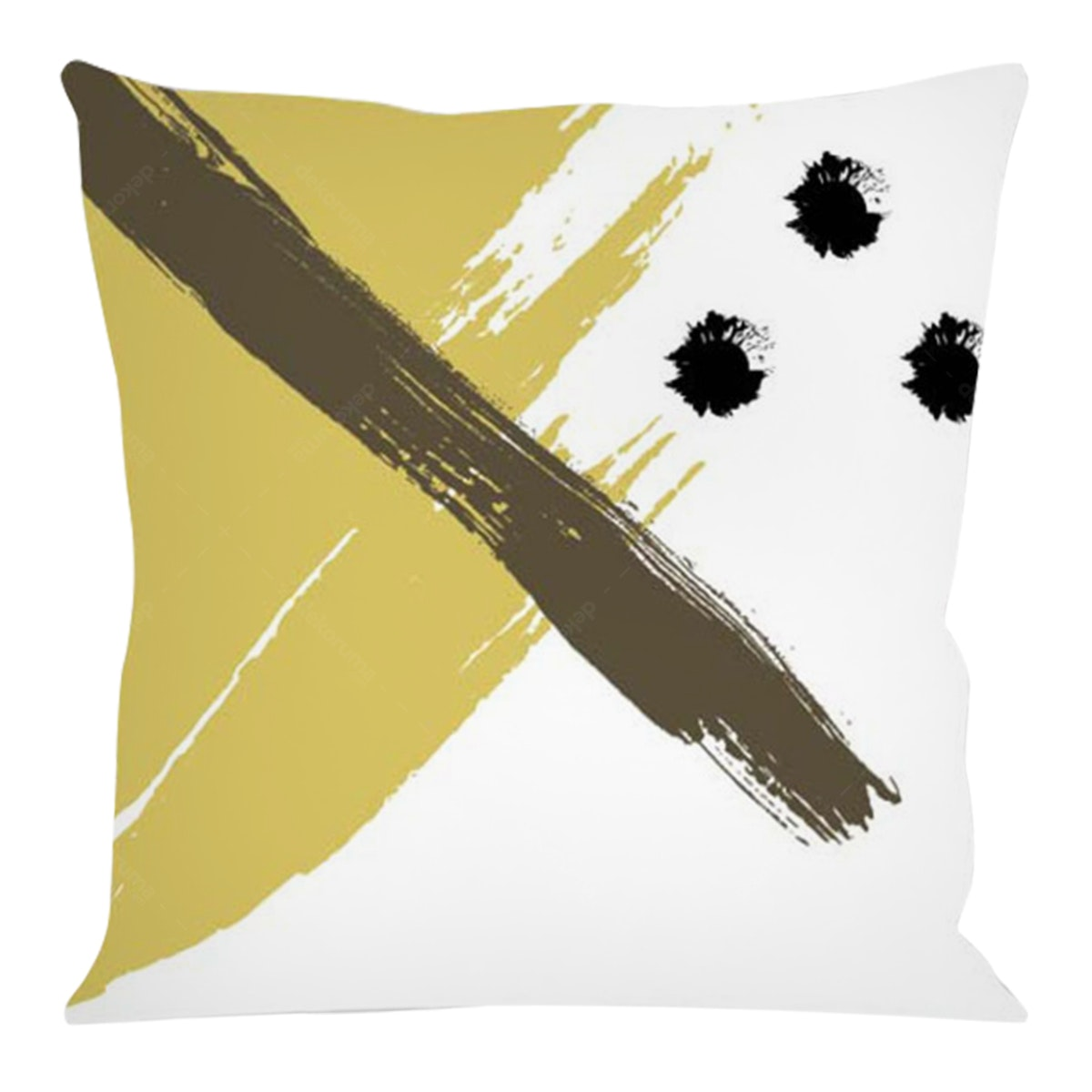 On&On Gold Paint #2 Cushion 40x40cm