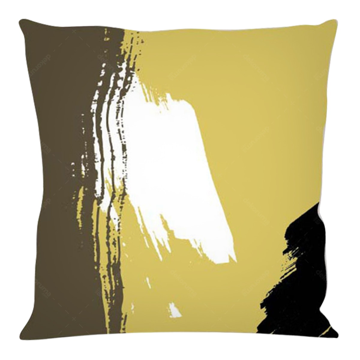 On&On Gold Paint #3 Cushion 40x40cm