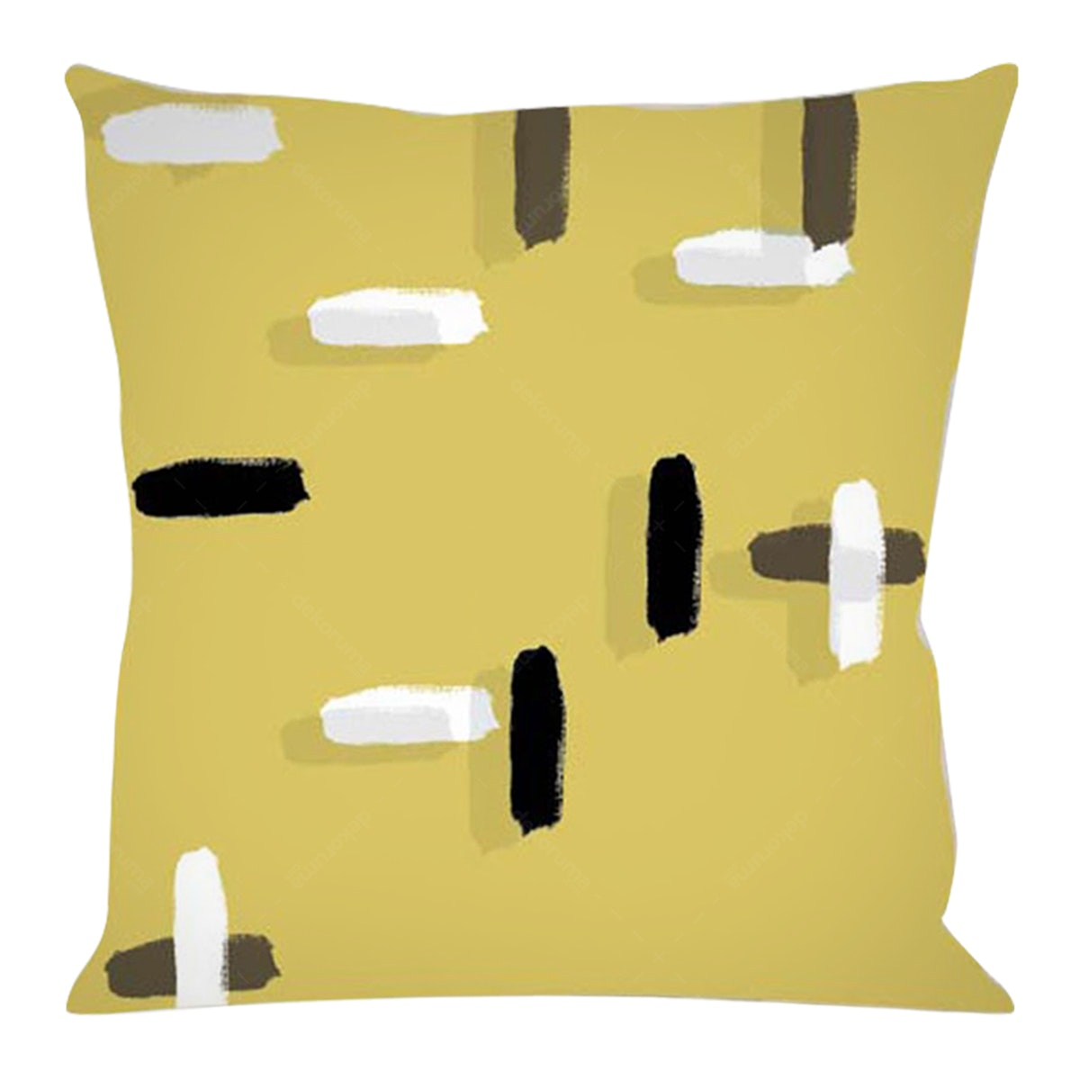 On&On Gold Paint #4 Cushion 40x40cm