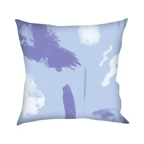 On&On Abstract Pastel Blue Cushion 40x40cm (Insert+Cover)