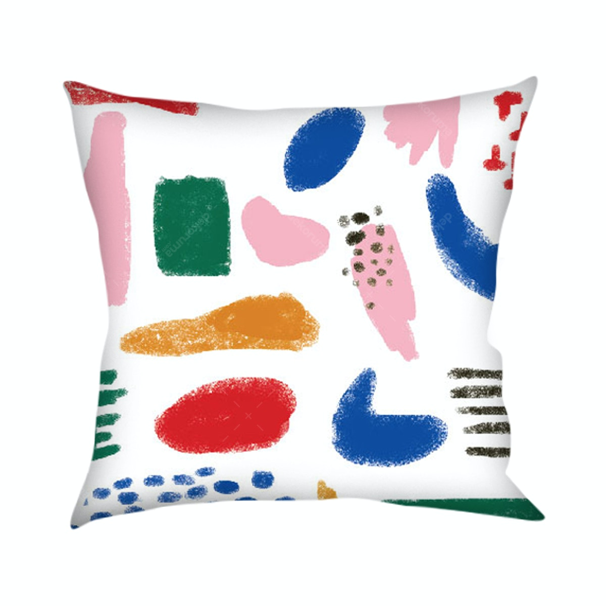 On&On Abstract Colorful Fun Cushion 40x40cm (Insert+Cover)