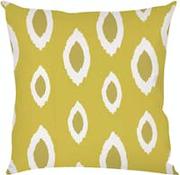 On&On Greenie Ikat #3 Cushion 40x40cm (Insert+Cover)