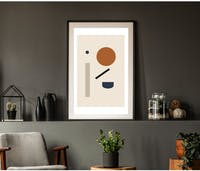 On&On Poster Earthy Forming (Tanpa Frame)
