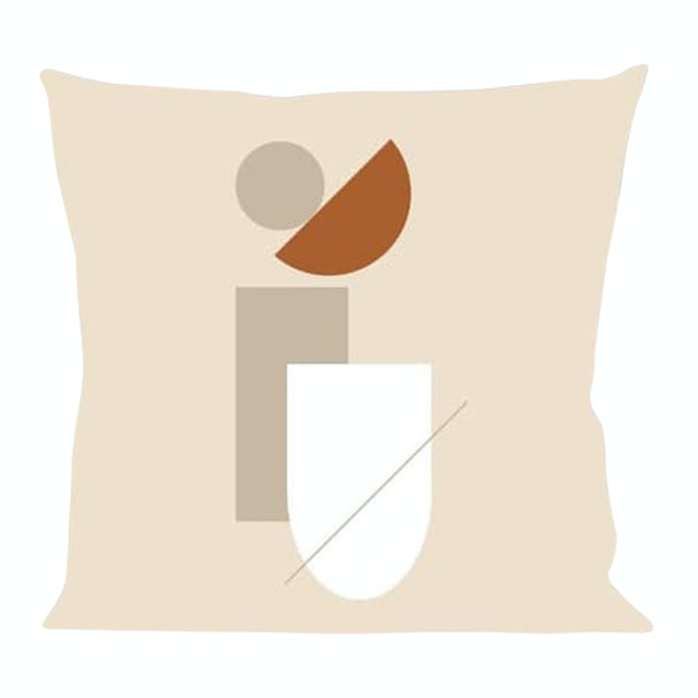 On&On Line Square Cushion