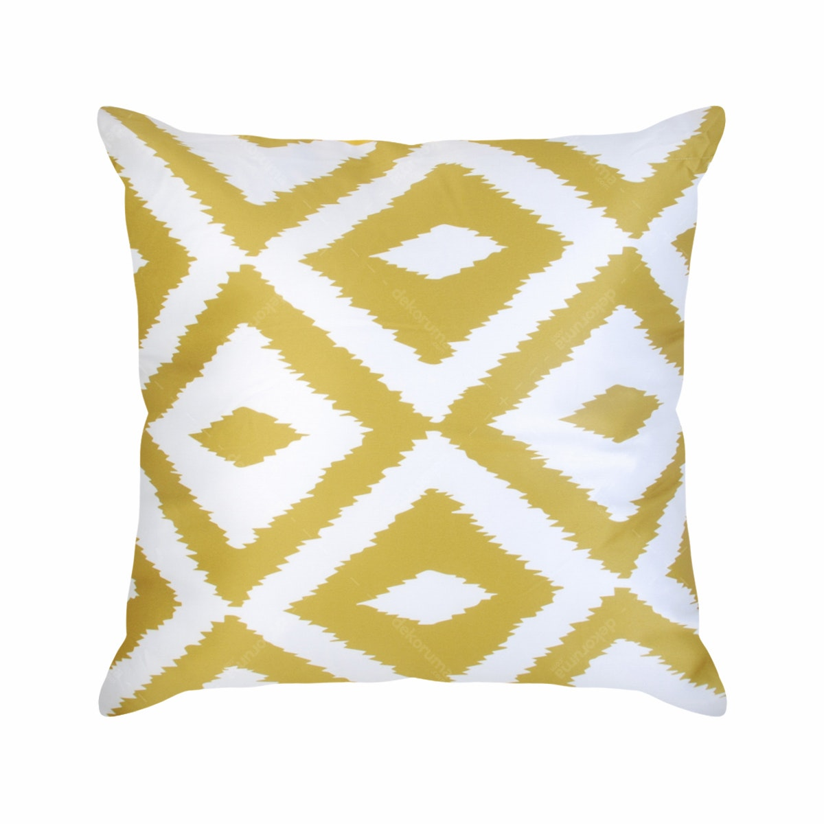 On&On Tie Dye Yellow Cushion 40X40cm