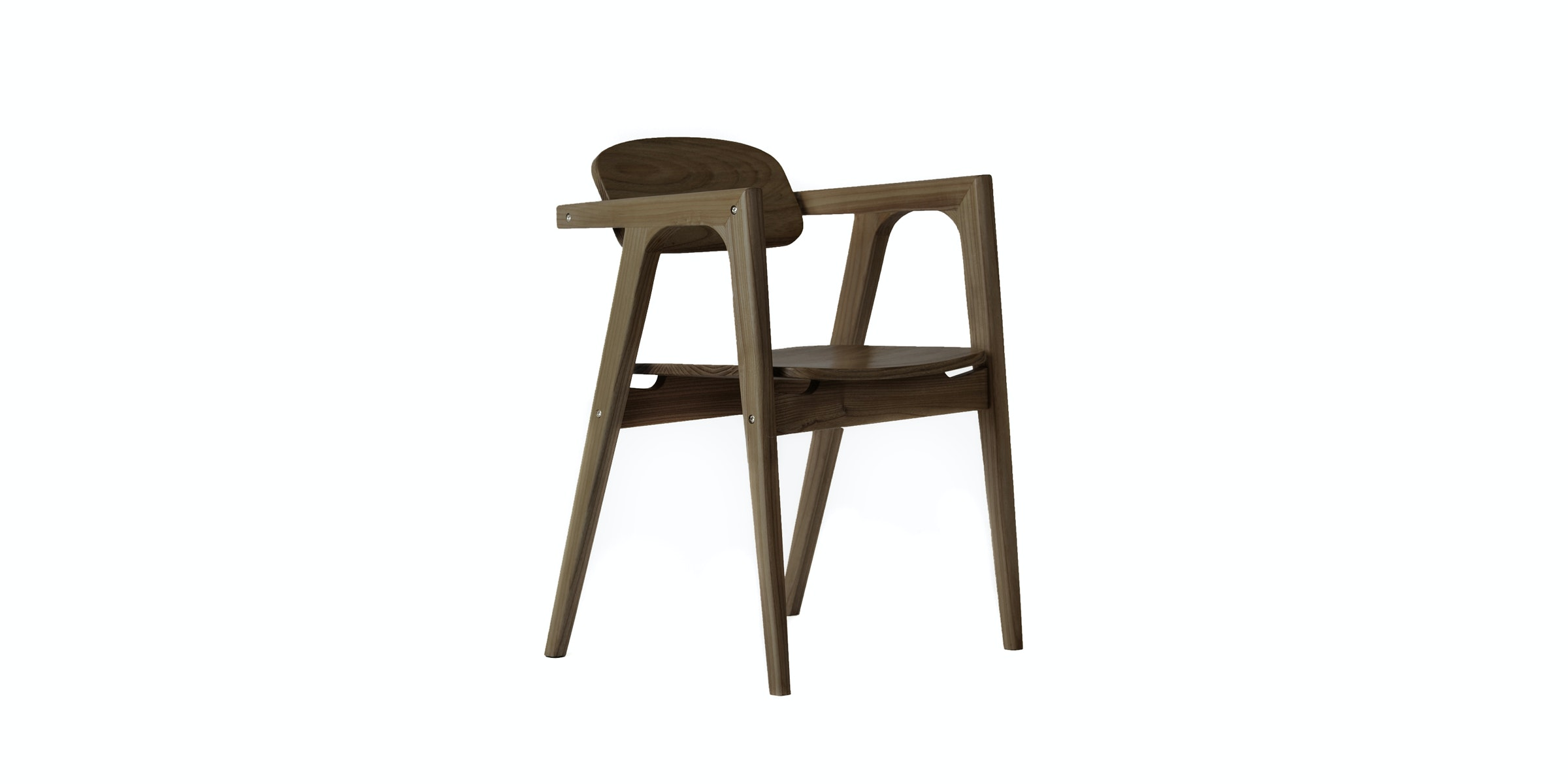 Onel Armchair Arvone Dark Wood