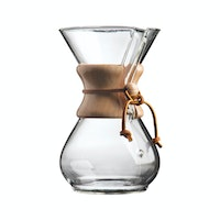 Chemex Classic Series Wood Collar 6 Cups (CM-6A)