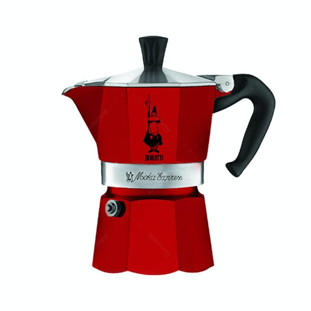 Bialetti Moka Express Red 3 Cups