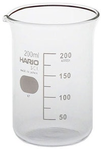 Hario Glass Beaker 200ml (B-200 SCI)