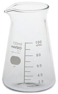 Hario Glass Conical Beaker 200ml (CB-200 SCI)