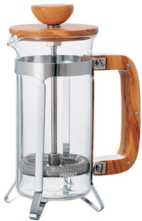 Hario French Press Wood 2 Cups CPSW-2-OV