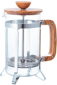 Hario French Press Wood 4 Cups CPSW-4-OV