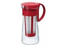 Hario Mizudashi Coffee Pot Mini Red MCPN-7R