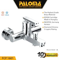 PALOMA FCP 1601 Keran Mixer / Kran Air Bathtub / Shower Mandi Panas Dingin
